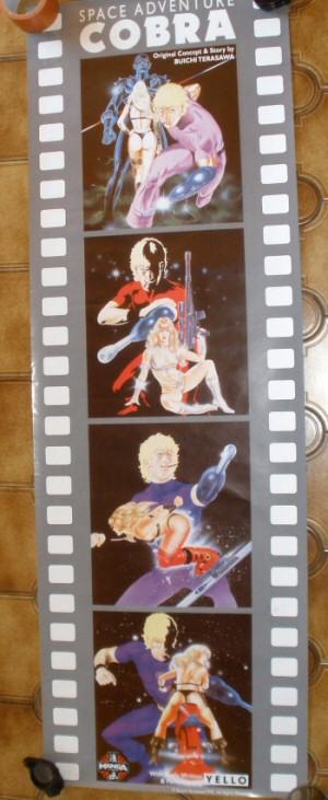 Space Cobra affiche anglaise du film