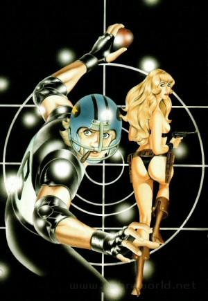 Artbook Cobra Girls 1 (1988) - Rugball
