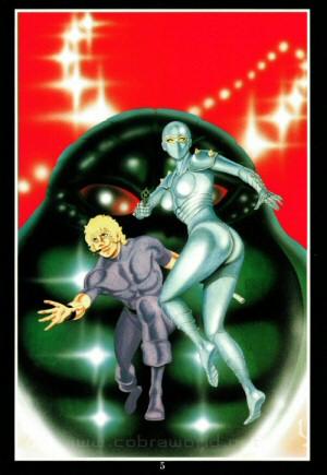 Artbook Cobra Girls 1 (1988) - Cobra & Lady