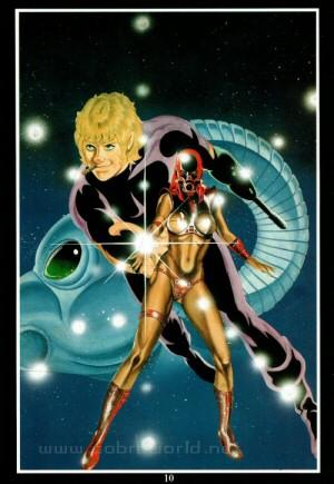 Artbook Cobra Girls 1 (1988) - Cobra & Black Bone