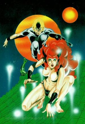 Artbook Cobra Girls 1 (1988) - Rajaki