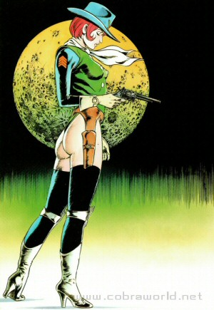 Artbook Cobra Girls 1 (1988) - Sergent Schmidt