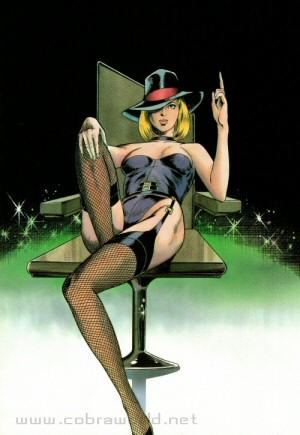 Artbook Cobra Girls 1 (1988) - Bonnie