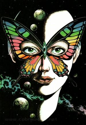 Artbook Cobra Girls 1 (1988) - Papillon