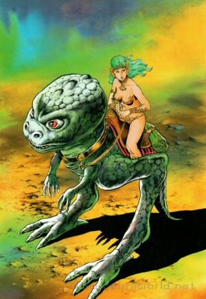 Artbook Cobra Girls 1 (1988) - Mischa