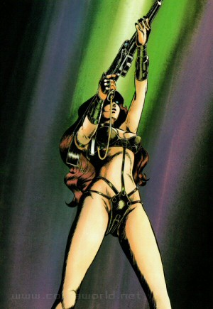 Artbook Cobra Girls 1 (1988) - Jane
