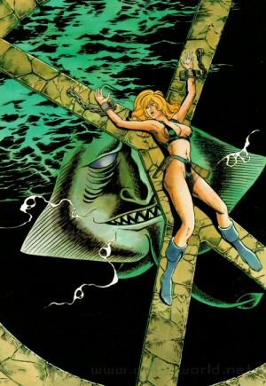 Artbook Cobra Girls 1 (1988) - Secret enchainée