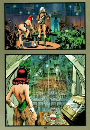 Artbook Cobra Girls 1 (1988) - Ambiance...