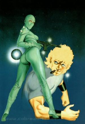 Artbook Cobra Girls 1 (1988) - Lady & Cobra