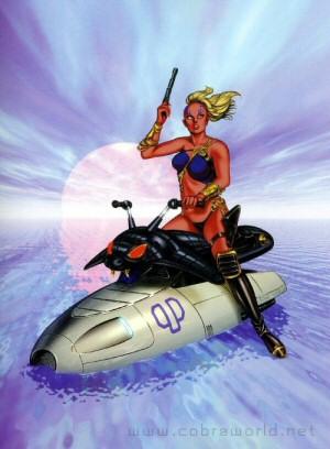 Artbook Cobra Girls 2 (1997)