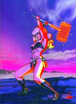 Artbook Cobra Girls 2 (1997) - Elsa