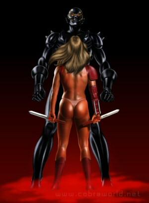 Artbook Cobra Girls 2 (1997) - Ophelia & Blacksword Zero