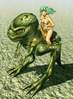 Artbook Cobra Girls 2 (1997) - Dominique