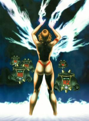 Artbook Cobra Girls 2 (1997) - Misty