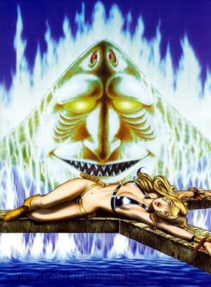 Artbook Cobra Girls 2 (1997) - Secret