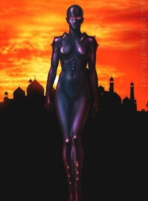 Artbook Cobra Girls 2 (1997) - Lady