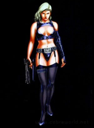 Artbook Cobra Girls 2 (1997) - Queen