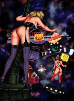 Artbook Cobra Girls 2 (1997) - Bonnie