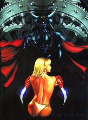Artbook Cobra Girls 2 (1997) - 'Odori-ko' (la danseuse)