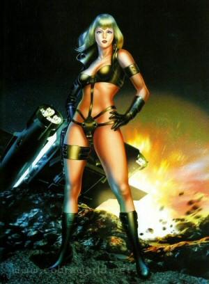Artbook Cobra Girls 2 (1997) - Sheila