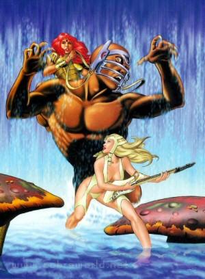 Artbook Cobra Girls 2 (1997) - Madeleine