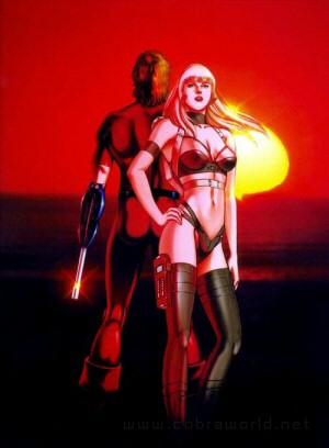 Artbook Cobra Girls 2 (1997) - Utopia et Cobra
