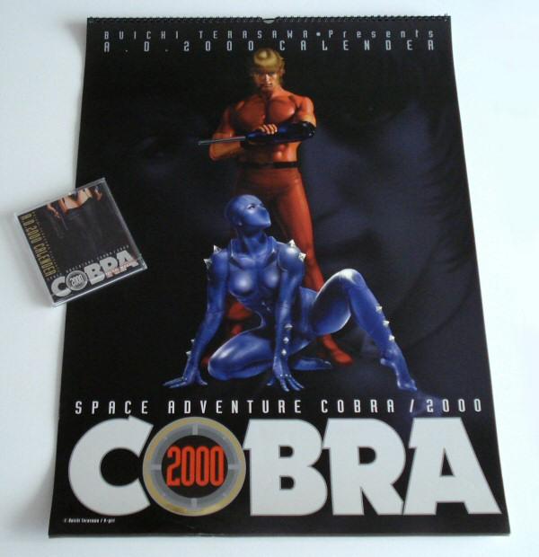 Calendriers Space Adventure Cobra 2000