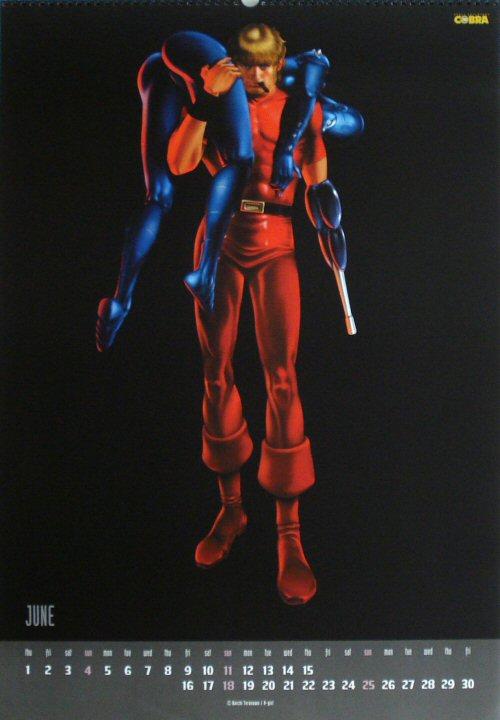 Calendrier Space Adventure Cobra 2000 - juin