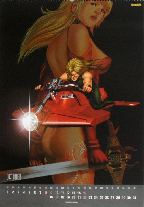 Calendrier Space Adventure Cobra 2000 - octobre