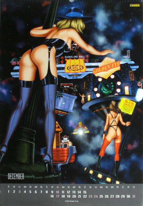 Calendrier Space Adventure Cobra 2000 - décembre
