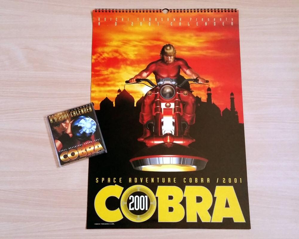 Calendriers Space Adventure Cobra 2001