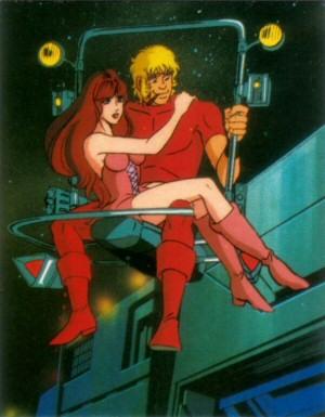 Space Adventure Cobra - Carte Amada 01