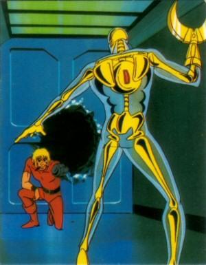 Space Adventure Cobra - Carte Amada 02