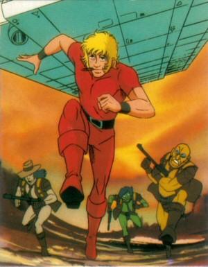 Space Adventure Cobra - Carte Amada 03