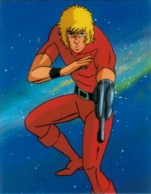 Space Adventure Cobra - Carte Amada 08