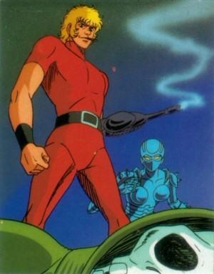 Space Adventure Cobra - Carte Amada 10
