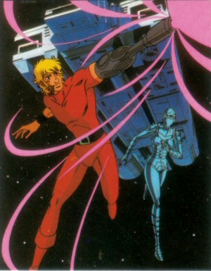 Space Adventure Cobra - Carte Amada 11