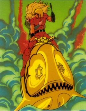 Space Adventure Cobra - Carte Amada 12