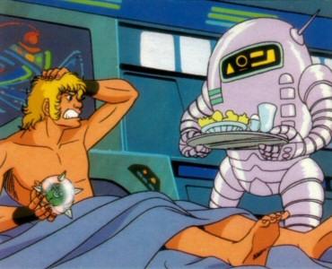Space Adventure Cobra - Carte Amada 13