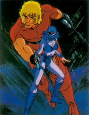 Space Adventure Cobra - Carte Amada 18
