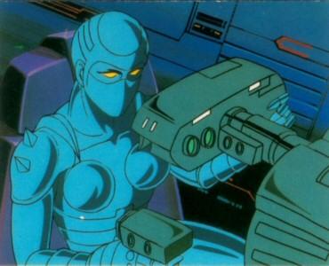 Space Adventure Cobra - Carte Amada 32
