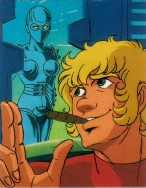 Space Adventure Cobra - Carte Amada 34