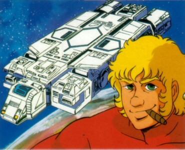 Space Adventure Cobra - Carte Amada 38