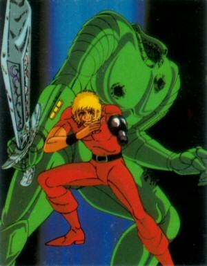 Space Adventure Cobra - Carte Amada 43