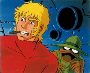 Space Adventure Cobra - Carte Amada 49