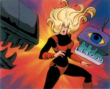 Space Adventure Cobra - Carte Amada 54