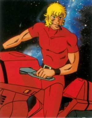 Space Adventure Cobra - Carte Amada 56