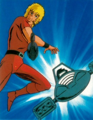 Space Adventure Cobra - Carte Amada 60