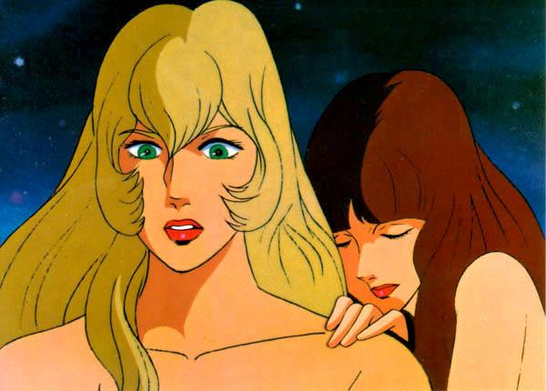 Space Cobra - Carte postale série animée 1982/83