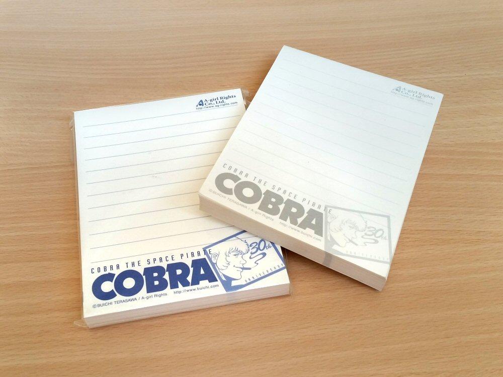 Cobra the Space Pirate - Bloc notes pour les 30 ans